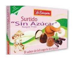 Mantecados y bombones surtidos sin azúcar caja 285 GRS ...