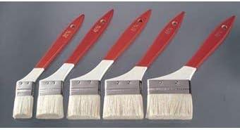 赤白柄刷毛 30㎜ 10本入り