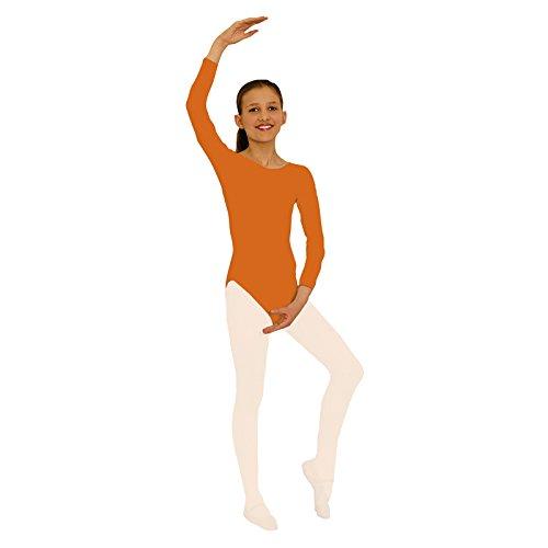 Body, orange, 1/1-Arm, Gr.116-128