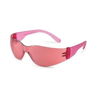 Amazon.com: Childrens, las niñas, señoras rosa marco Saftey ...