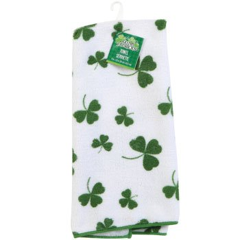 Amazon Com St Patrick S Day Shamrock Towel Home Kitchen