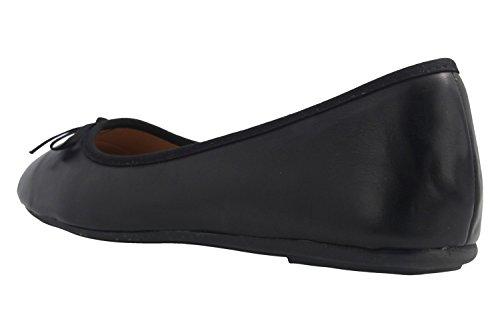 Fitters donna nero Ballerine nero Footwear BFwqB7r