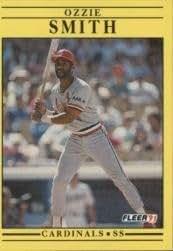1991 Fleer #646 Ozzie Smith - NM-MT