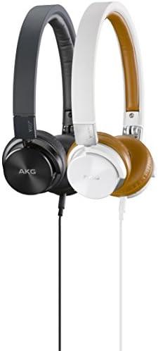 AKG, Y45BT, mini-hoofdtelefoon, opvouwbaar, met afneembare kabel en microfoon, wit