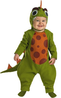 [Disguise - Mighty Dino Infant Costume Size 12-18 Months] (Trex Baby Costumes)