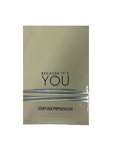 Emporio Armani Because It's You Eau De Parfum 3.4 Ounce / 100 ml (Armani Woman Emporio Parfum)