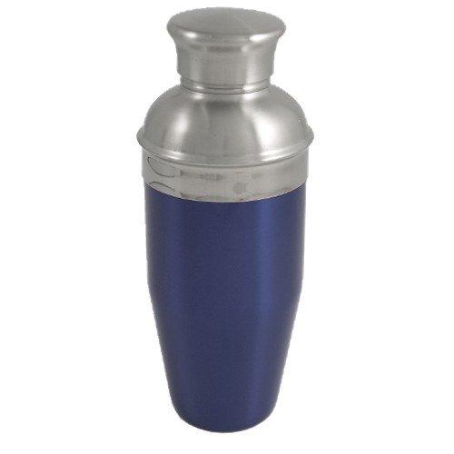Enameled Stainless Steel Shaker Cocktail (Blue Enameled Stainless Steel Cocktail Shaker 26oz NEW)