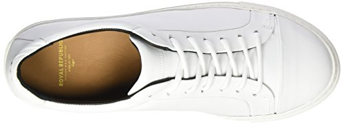 Homme 17 Baskets Noos Base White Royal Republiq Blanc Shoe Spartacus qSanwYAR