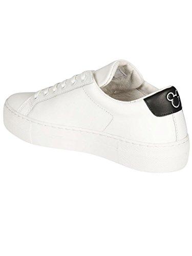 Vitello Donna summer Master 2018 Moa White Sneakers Md170 Spring Of Arts nero Bianco zAn41q