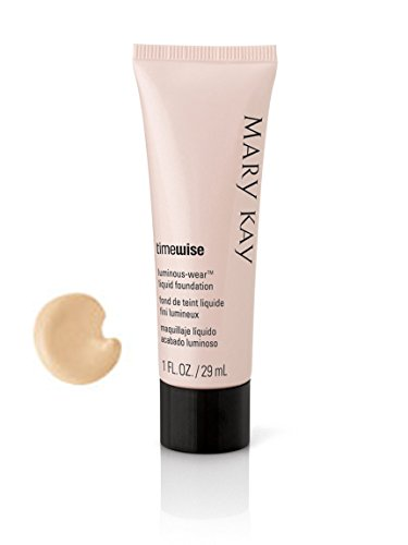 Mary Kay Time Wise Luminous-Wear Liquid Foundation Ivory 6/Normal to Dry Skin (Best Foundation For Normal To Dry Skin)