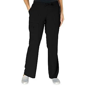 Jockey Women's Scrubs Maximum Comfort Scrub Pant, Black, M