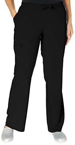 Jockey Women's Scrubs Scrub Pant, Black, S