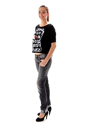 Karl Lagerferld - Camiseta - para mujer negro