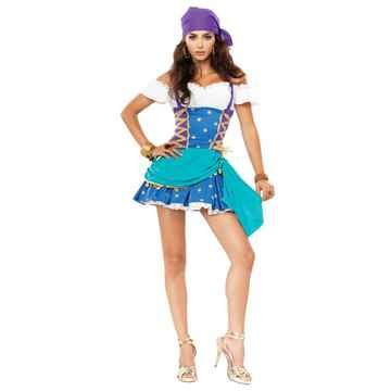 Fortune Teller Costume Ideas (Gypsy Princess Teen/Junior Costume - Teen Medium/Large)