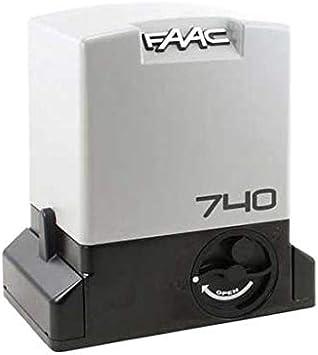 Motor Reductor 230 V Safe 740 E Z16 con codificador para Puertas correderas Uso residencial 500 kg FAAC 1097805: Amazon.es: Bricolaje y herramientas