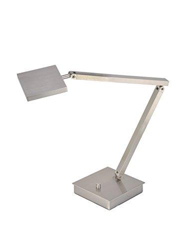 Led Brushed Finish - TaskWerx - LED Urban Task Lamp - Brushed Steel Finish
