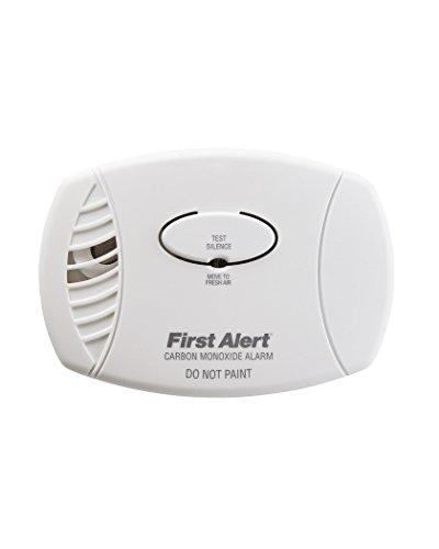 First Alert CO400 Battery Powered Carbon Monoxide Alarm, ...