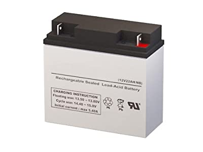 Schumacher Electric SCUPSJ2212 DC Power Source 2200 Peak Amps Jump Starter Replacement Battery - 12 Volt 22AH NB Terminal by SigmasTek