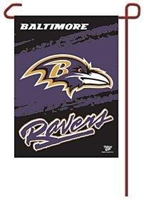 WinCraft NFL Baltimore Ravens WCR08361012 Garden Flag, 11
