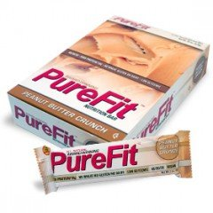 Purefit Peanut Butter Crunch Protein Bars 2oz. (Pack of 6)