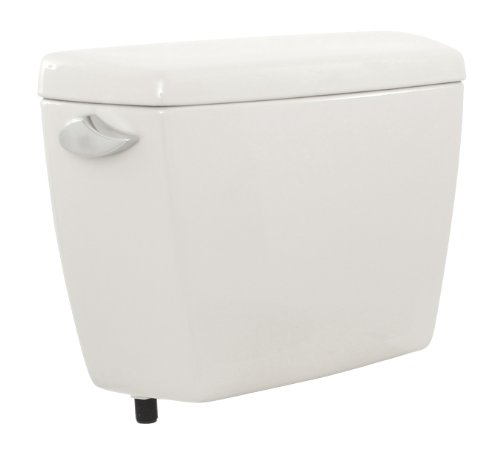 Drake Cotton Tank 01 - TOTO ST743E#01 Drake Tank with E-Max Flushing System, Cotton White (Tank Only)
