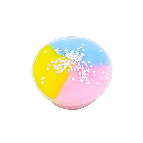 Slime charms Colorful Slime Polymer Anti Stress Charms Cotton Magic Crystal Clay Plasticine Supplies Kids Toys For Children 9