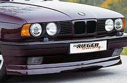 Rieger Front Lip - BMW E34 5 Series 1988-1996 OEM Genuine Rieger Brand Front Spoiler Lip