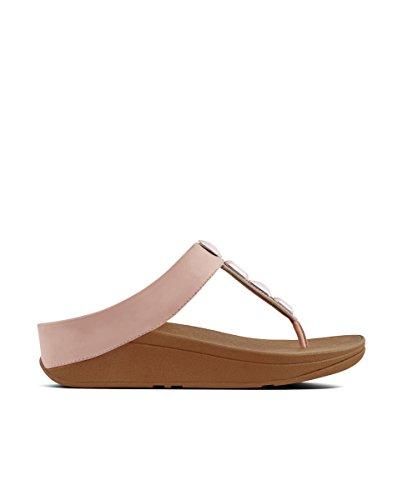 open sandali thong Dearfoams Toe scuro toe grigio 535 rosa Roka pIqx1F6