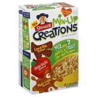 Quaker Mix-Up Creations Instant Oatmeal, Variety Pack, 12.4 oz, (pack of 3)
