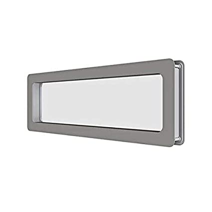 Hublot rectangular de acero inoxidable 137 x 547 mm para ...