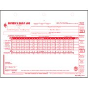 Driver\'s Daily Log w/7- and 8-Day Recap, 2-Ply, Carbonless - Stock (Pkg Qty 100)