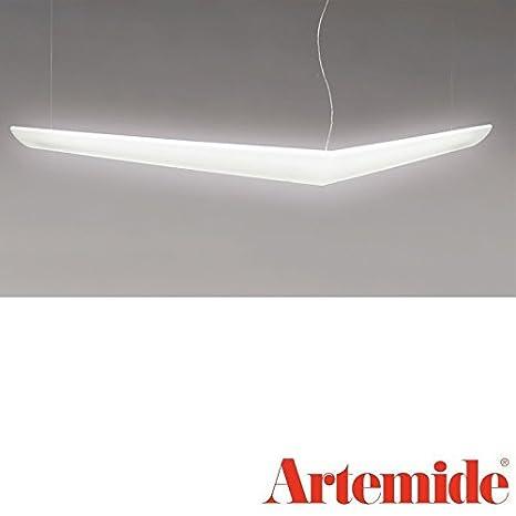 Artemide Mouette asimétrica lámpara de techo 2 x 24 W y 2 x ...