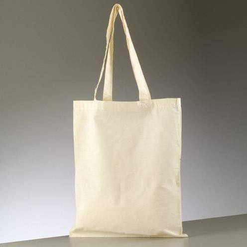 efco – Bolsa de Transporte con Mango Largo, Algodón, Natural, 38 x ...