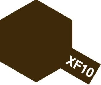アクリルミニ XF-10 フラットブラウン