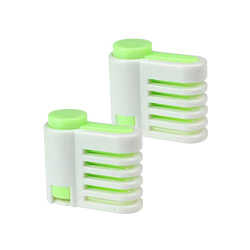 DIY Kitchen Tool Cake Slicer, Stratification Auxiliary, Bread Slice, Toast Cut, 5 Layers Leveler Slicer, Kitchen Fixator Tool (2PCS(Green)) by Sandistore Home (Image #1)