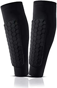 Wirlsweal Soccer Shin Guards, Slip and Slide Protective Soccer Gear for Youths and Adults, Protective Soccer G