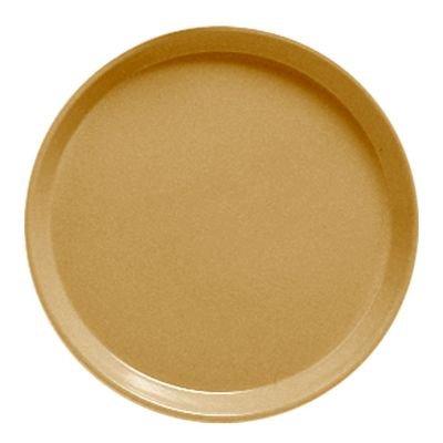 - Serving Camtray, Round, 11'' Diameter, Fiberglass, Aluminum Reinforced Rim, Earthen Gold, Nsf (12 Pieces/Unit)