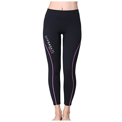 bfa3e0c275 DIVE   SAIL Wetsuit Pants 1.5mm Women Neoprene Pants For Kayaking Surfing  Snorkeling Padding