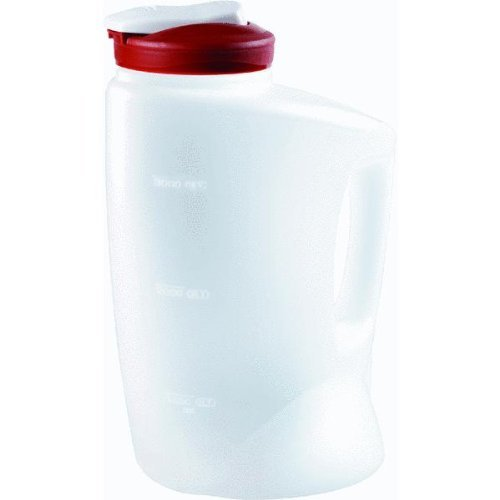 Rubbermaid 7E60 1-Gallon Pitcher (Red) (1 Gallon Pitcher)