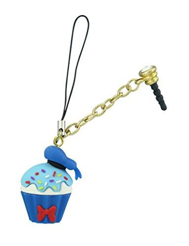 Disney Donald Duck Cupcake D-Lish Treats Phone Charm Disney Donald Duck Charm