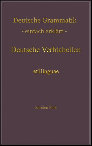 Deutsche verbtabellen grammatik einfach erklrt 4 german deutsche verbtabellen grammatik einfach erklrt 4 german edition by fink fandeluxe Image collections
