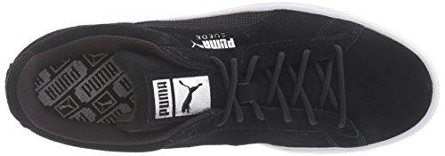 Puma Mens Mocka Klassiskt Mesh Fs Mode Sneaker Puma Black