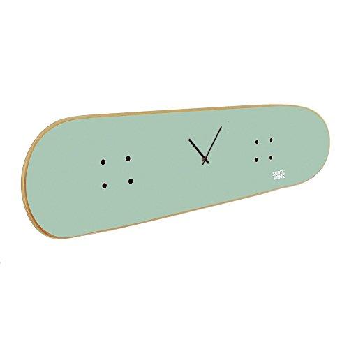 Skateboard Decor Inspiration for Skateboarding fan - Gift for Skateboarders - Skate Clock mint by SKATE HOME