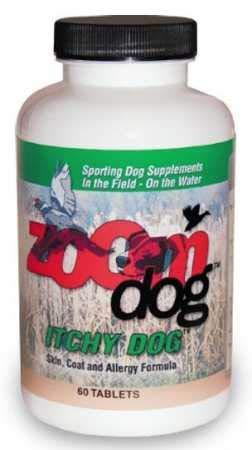(Zoom Dog Itchy Dog Skin, Coat Allergy Formula (60 Tabs))