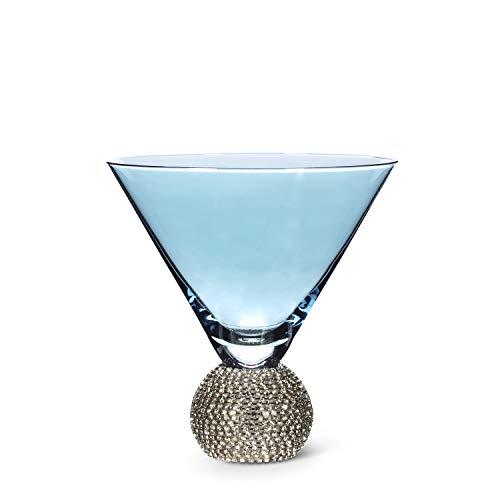 Abbott Collection 27-Glam-MART Blue VShape Martini w/Gems-5