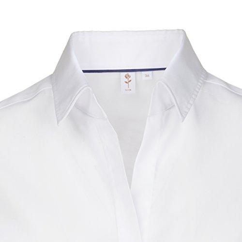 wei Seidensticker Slim Fit Bianco Camicetta xIAIq7