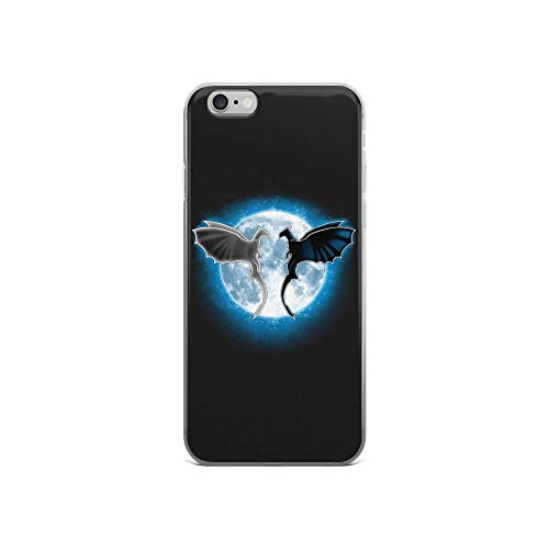 - iPhone 6/6s Pure Clear Case Cases Cover Moon Dragons Mythology Creatures Fantasy Cartoon