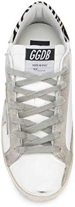 Golden Goose Luxury Fashion Femme G36WS590V29 Blanc Cuir Baskets | Printemps-été 20