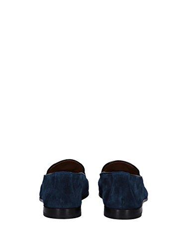 DOUCALS Mocassini Blu Scamosciati Men Mod. DU1080CAPRUF680