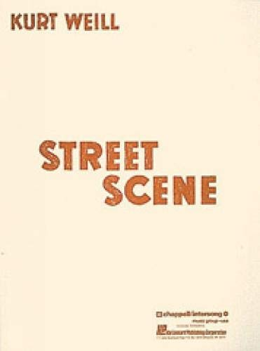 (By Kurt Weill - Street Scene)